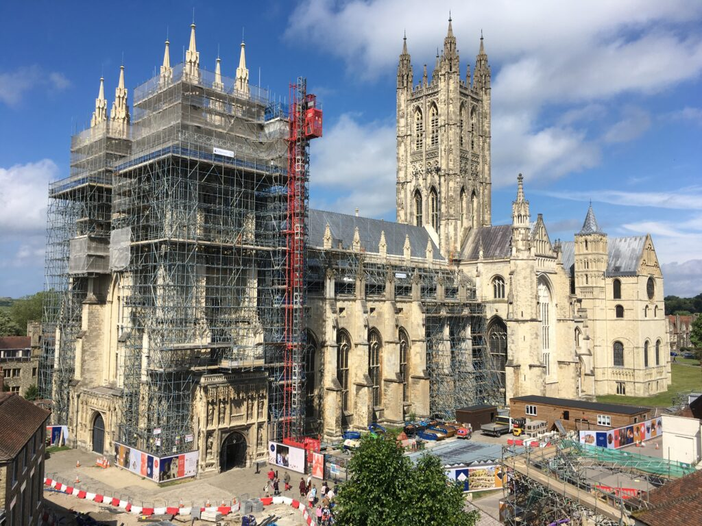 England in stone: Recounting recent research at Canterbury Cathedral